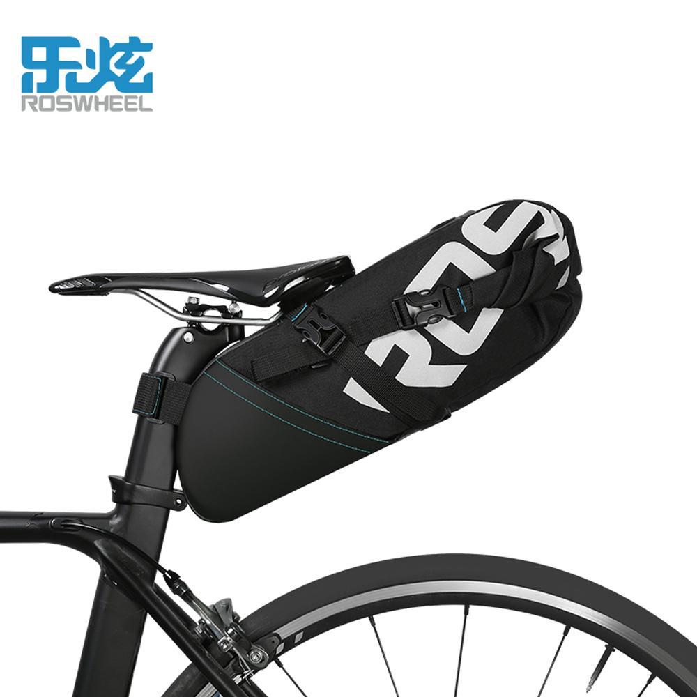 94116798652 Compre ROSWHEEL 10L Bolsa De Bicicleta MTB Ciclismo Sillín De Bicicleta  Cola Asiento Trasero Bolsas De Almacenamiento Accesorios A $33.06 Del  Romantravel ...