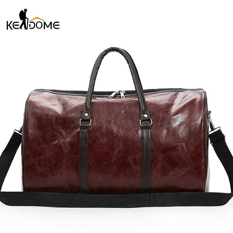 2019 PU Leather Gym Bags Large Capacity Travel Bag Stylish Women Handbag  Men Training Duffel Bags Fitness Sports Bag Tote XA724WD From Qingfengxu,  ... 943e68ebab