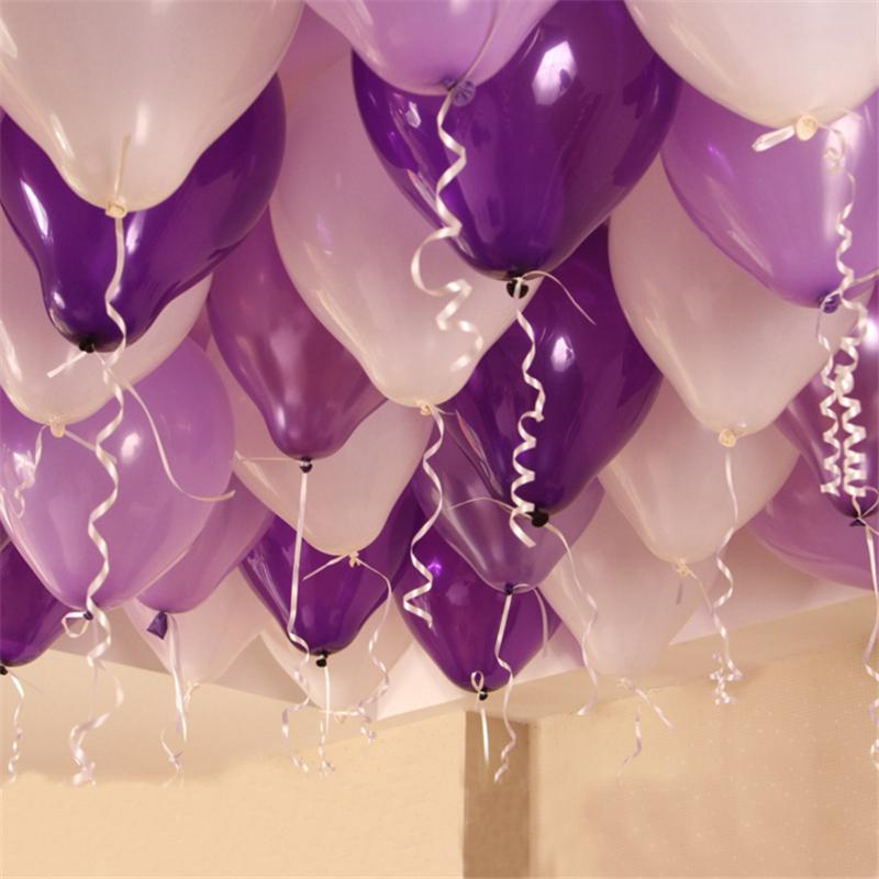 2019 Nflatable Children 10 Inch Light Purple Latex Balloons Wedding