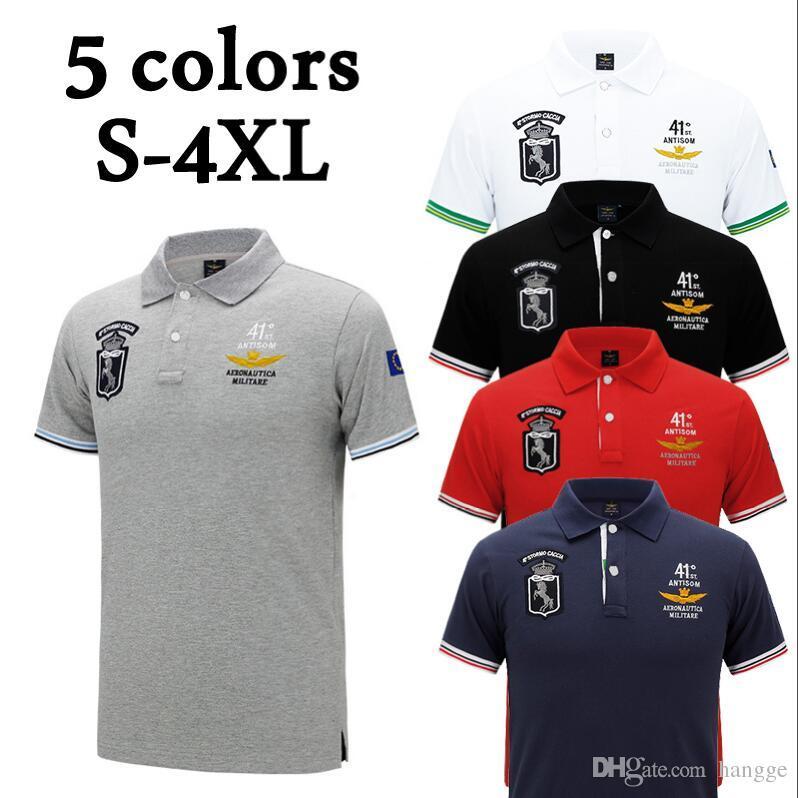 Respirant Homme Manches Polo Shirt T Pur 2019 D Affaires Hommes Marque Vêtements Été Casual Courtes À Coton ZiOPTwkXu