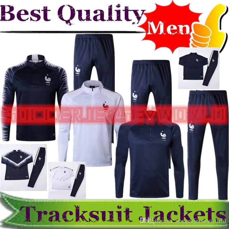 a8b998d6e 2018 World Cup France Soccer Tracksuits Kits Sportswear Training ...