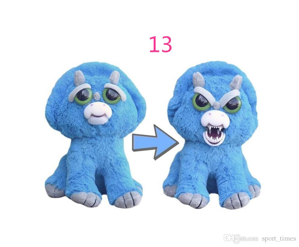 IN Stock! Feisty Pets Vicky Vicious Plush Adorable Plush Stuffed Bunny that Turns Feisty Growls Pets with a Squeeze 8.5