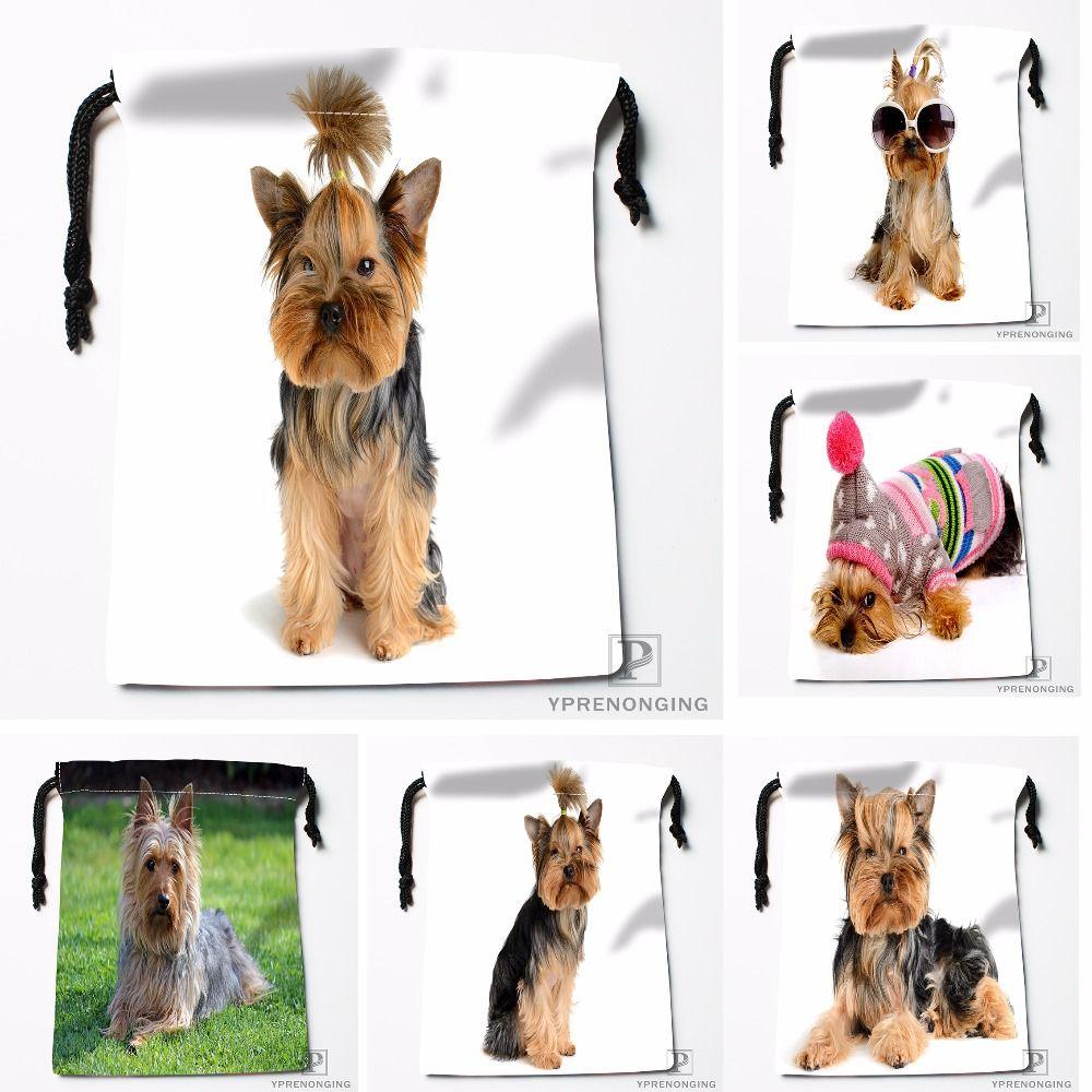 Compre Personalizado Yorkshire Terrier Kurz Sacos De Cordao De