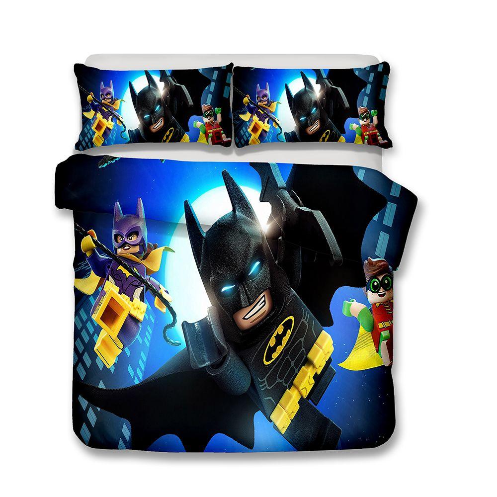 Großhandel 3d Printed Bettwäsche Film Thema Lego Batman Bettwäsche