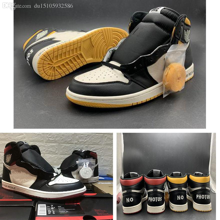 74fba64a71a454 Newest 1 High OG NRG No L S Varsity Maize NOT FOR RESALE Pack 1S Varsity Red  Man Designer Casual Shoes 861428 107 With Box Suede Shoes Shoe Sale From ...