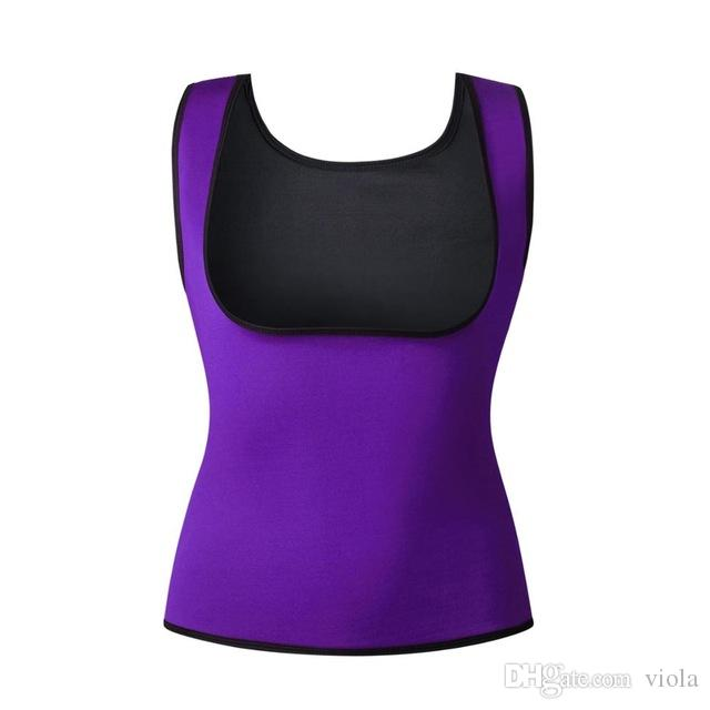 New Body Shaper Tank Top Shirt Women Neoprene Hot Shapers CAMI Sweat Shirt Redu Tops Chest Abdomen Waist Trainer Vest