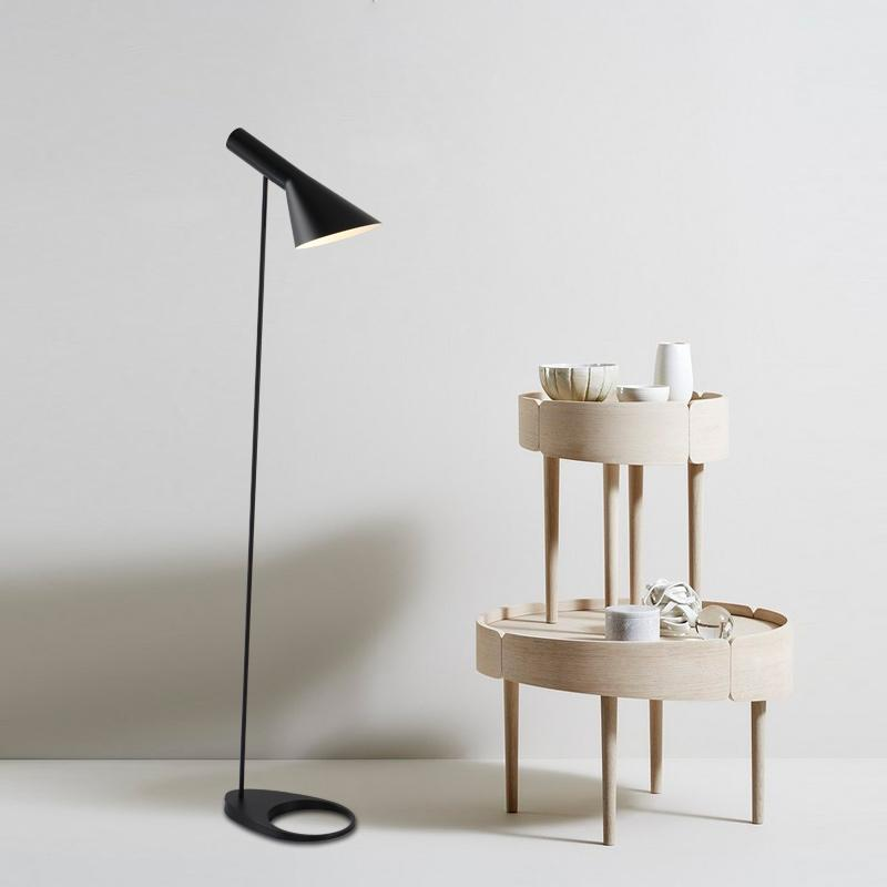 aj floor lamp 2018 aj floor lamp e27 blackwhite arne jacobsen louis poulsen metal stand lights for living roomcountry housebarhotel from samanthe