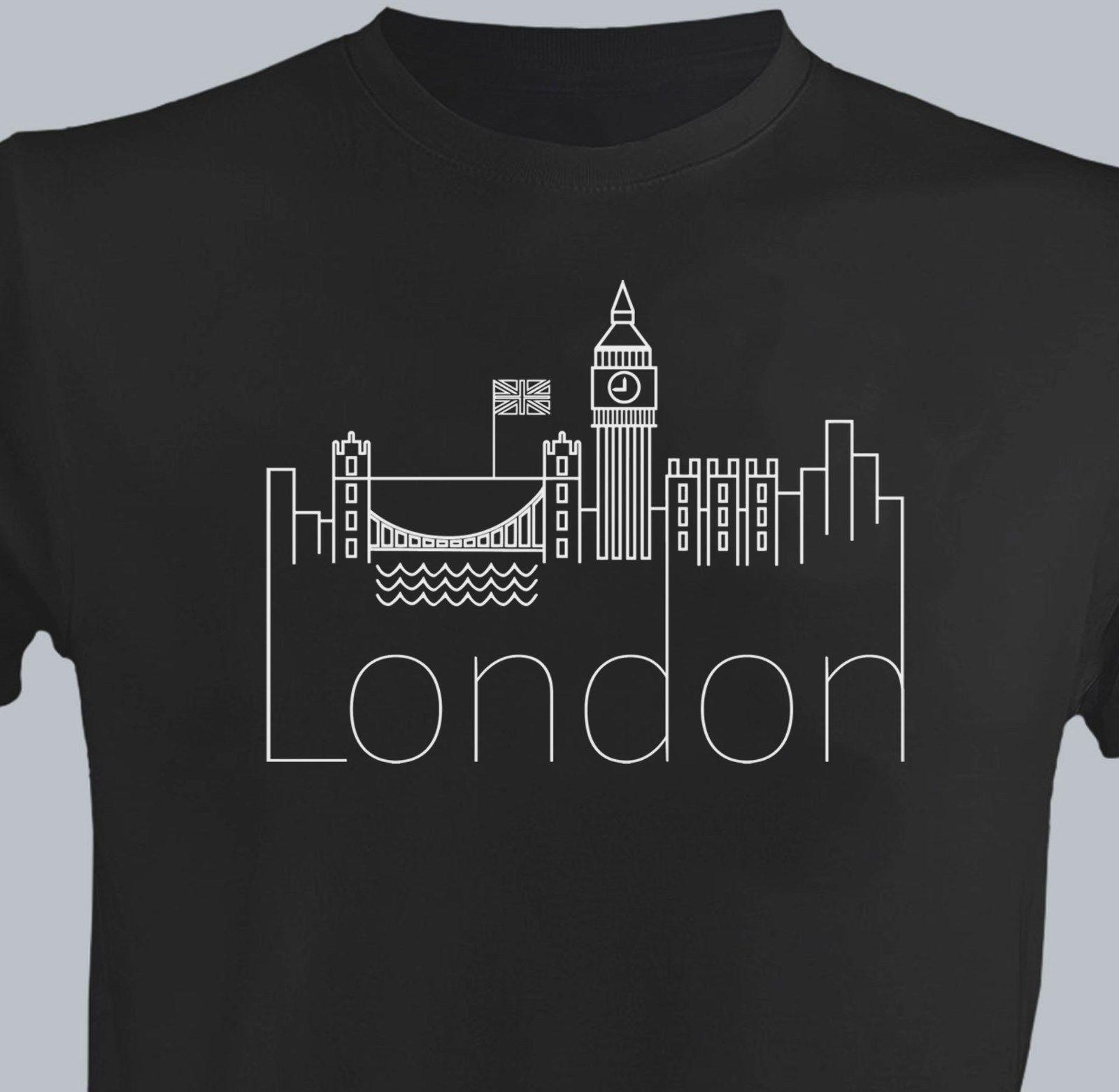 photograph about Printable Tshirt Vinyl named London Traces Adult men Fresh new T-blouse VINYL Print Homies British isles Present for Him Massive Ben ClothingFunny absolutely free shipping and delivery Uni Informal tee present