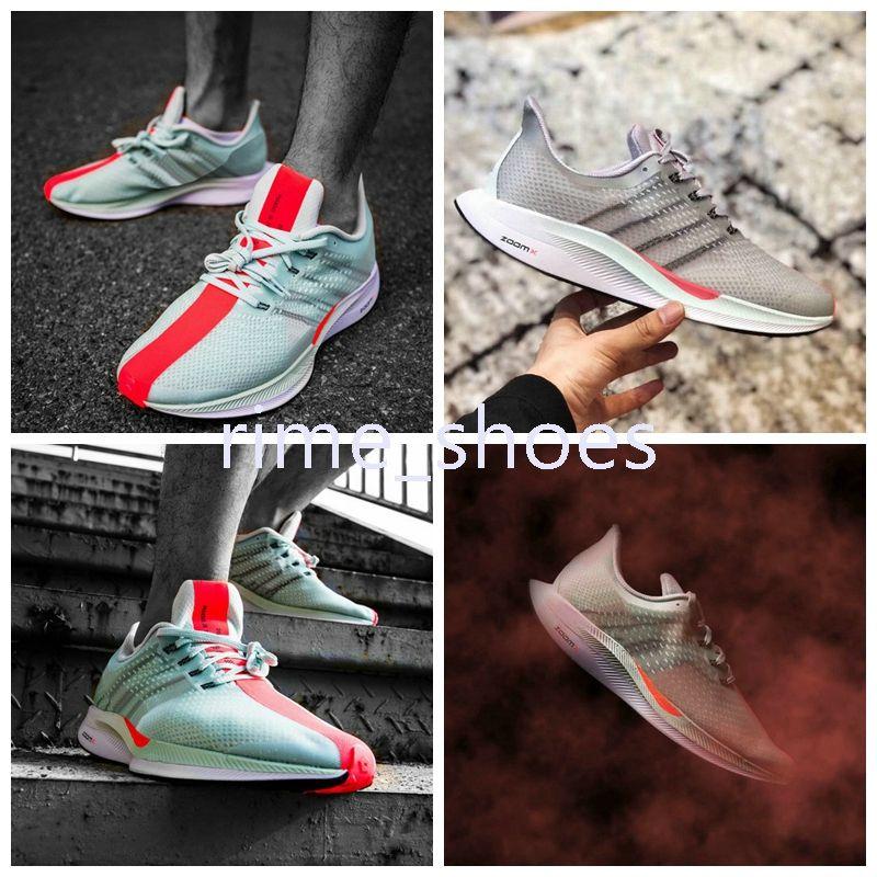 uk availability a9fd5 ff41f Compre Nuevo Zoom Pegasus Turbo Verde Rojo Negro Blanco Zapatillas De  Deporte Mesh Womens React ZoomX Fly Pegasus 35 Mens Sneakers Size Eur 36 45  A  80.13 ...