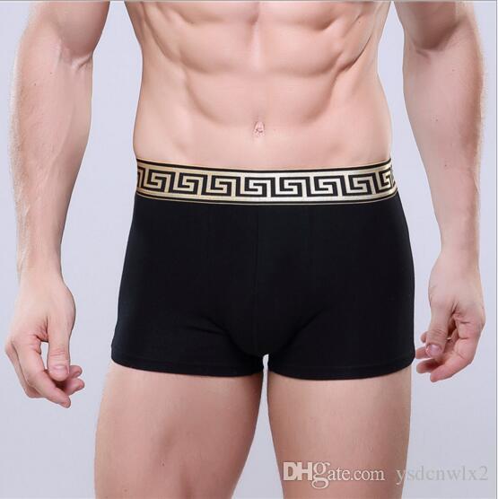 7dfbbf34622 2018 Fashion Luxury Designer Sexy Mens Underwear Boxers For Man Underwear  Cueca Boxer Ropa Interior Vintage Shorts UK 2019 From Ysdcnwlx2