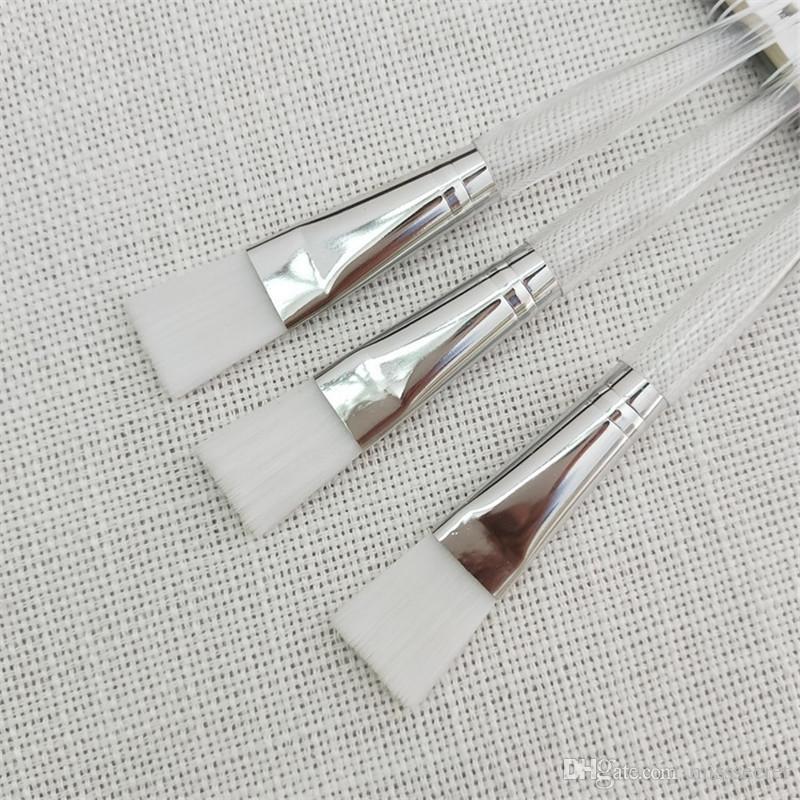 Nuovi i Pennello maschera facciale in cristallo Pennelli trucco Pennello la cura della pelle Pennello fondotinta Applicatore fango