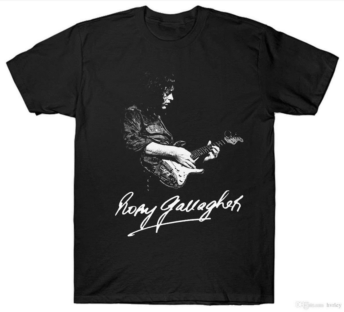 Rory Gallagher T Shirt Gitarist Gitaar 1970 S 1980 S Retro Vintage