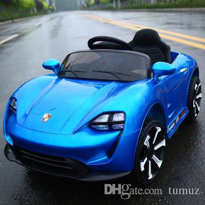Crianças veículos carros elétricos, pode levar dual-drive carro de controle remoto dupla, quatro rodas de grandes dimensões