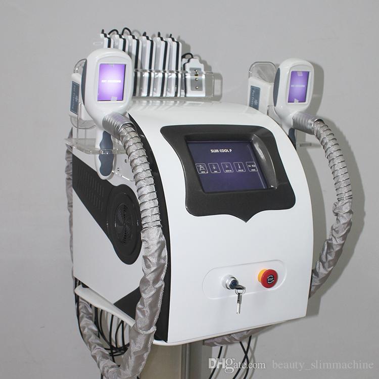 2019 NUOVO grasso cryolipolysis portatile congelamento dimagrante macchina crioterapia ad ultrasuoni RF liposuzione lipo macchina laser del CE
