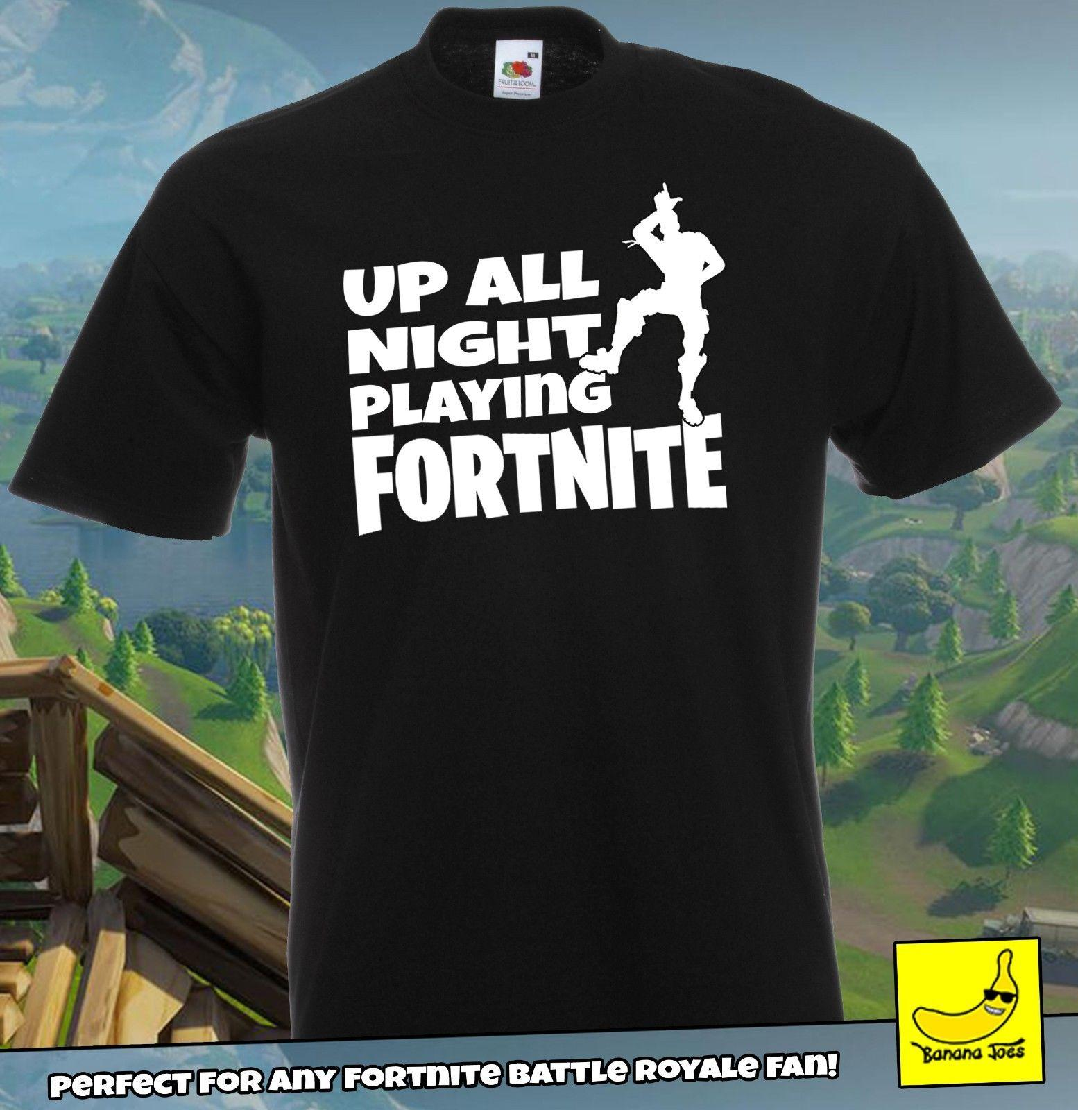 Kids' Clothes, Shoes & Accs. Fortnite Official Logo Boys Black T-shirt Battle Royale Top Gamers Tee Moderate Price Boys' Clothing (2-16 Years)