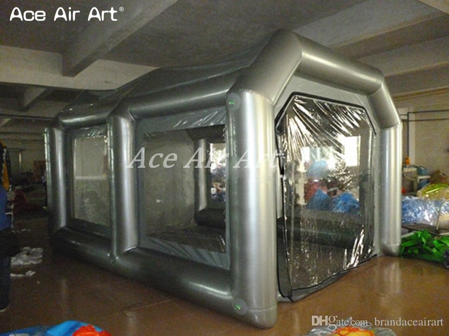 Portable Paint Booth >> Cheap Car Paint Inflatable Spray Booth Portable Mobile Car Painting Work Station For Sale