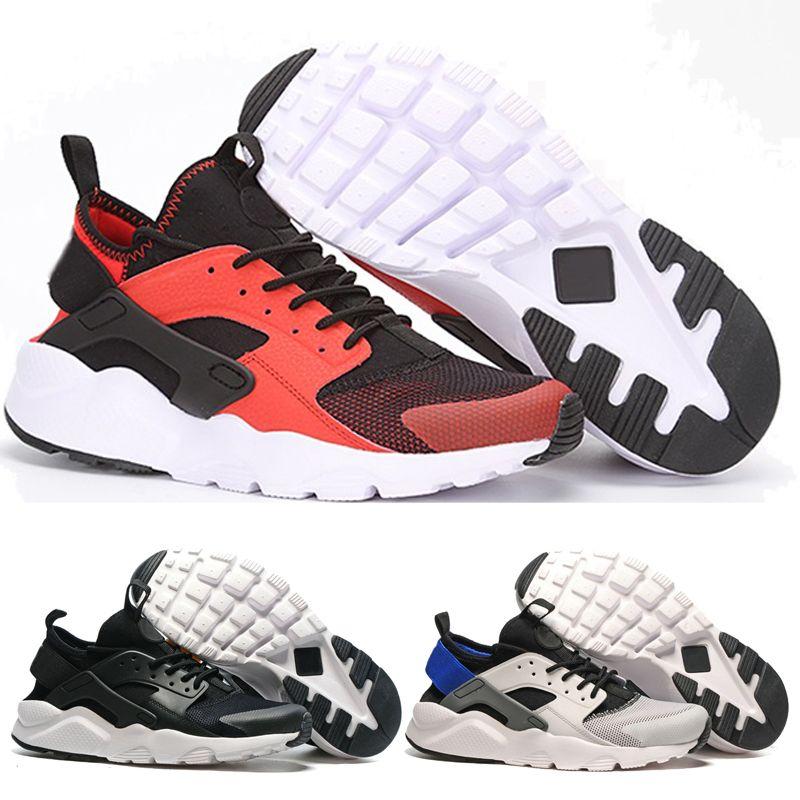 size 40 14a11 c5b2d 2017 Nuevo Diseño Nike Air Huarache 4 IV Zapatos Casuales Para Mujeres Para  Hombre Ligero Huaraches Sneakers Atlético Deporte Al Aire Libre Huarache  Zapatos ...