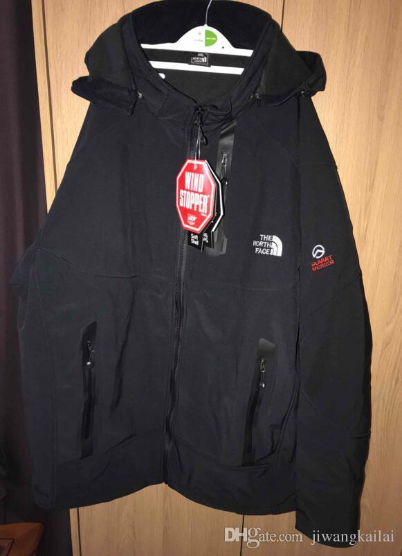 887bd65bd2e Men Waterproof Breathable Softshell Jacket Men Outdoors Sports Coats ...