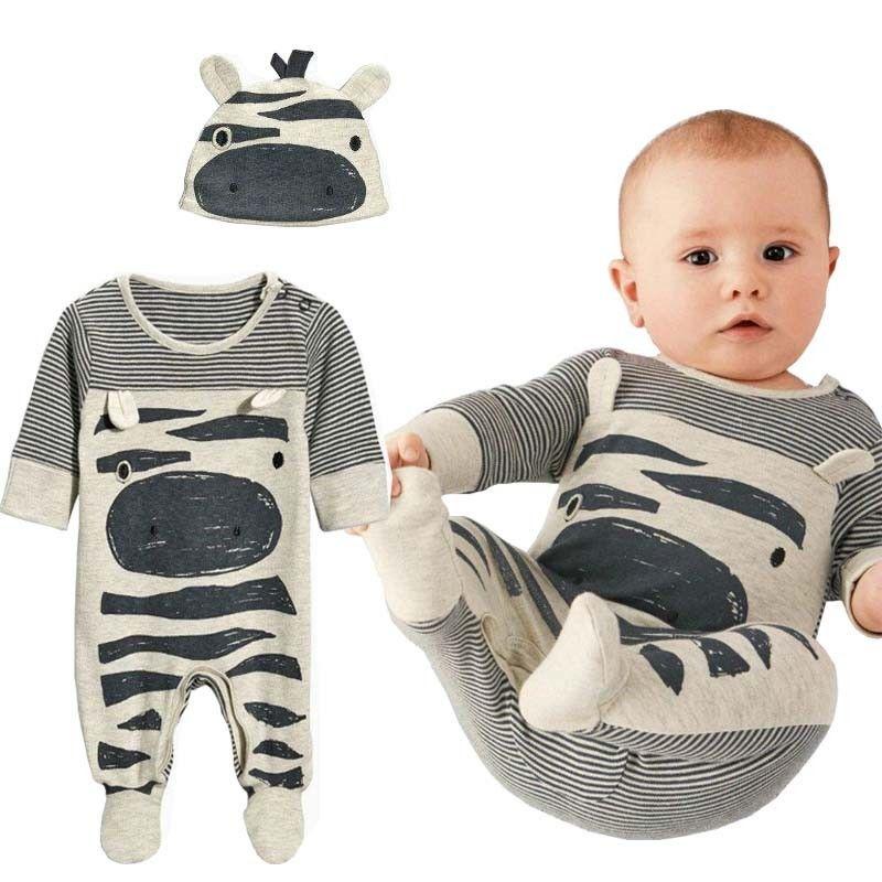 202e5ae33a0c 2019 2018 Autumn New Fashion Baby Boy Clothes Set Cows Cute Gray ...