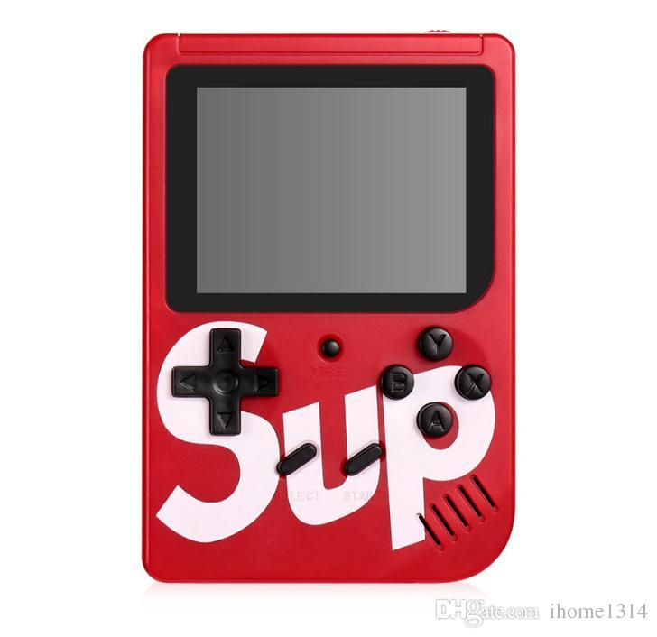 Mini SUP plus Handheld Game Console Portable Retro 8 bit FC MODEL in 300 AV GAMES Color LCD Game Player best for Xmas gift