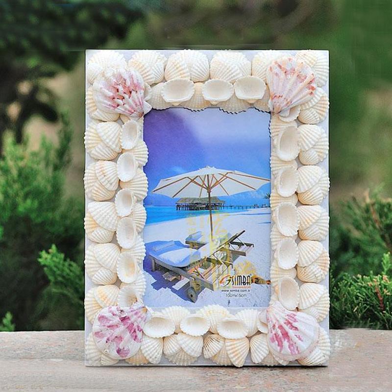 Lujoso Seashell Picture Frames Cheap Bandera - Ideas Personalizadas ...