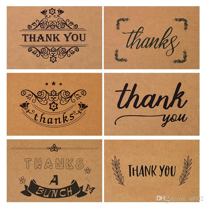 Retro kraft paper thank you card birthday flower shop printing retro kraft paper thank you card birthday flower shop printing gratitude handwriting greeting cards ceremony party gifts 0 7dn gg romantic birthday cards m4hsunfo