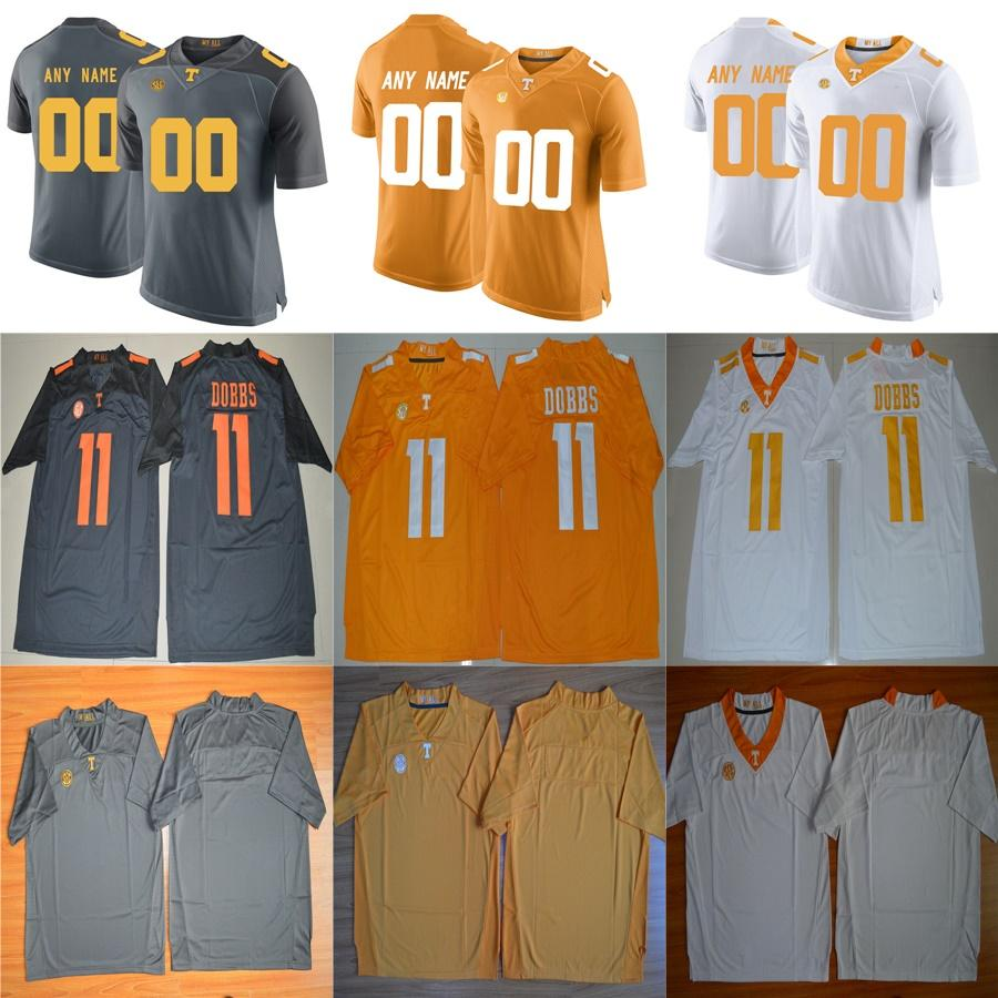 new arrivals e35e3 fa383 Mens Custom Tennessee Volunteers College Football Jerseys stitched NCAA  Tennessee Volunteers Personal Limited Football Jersey S-3XL