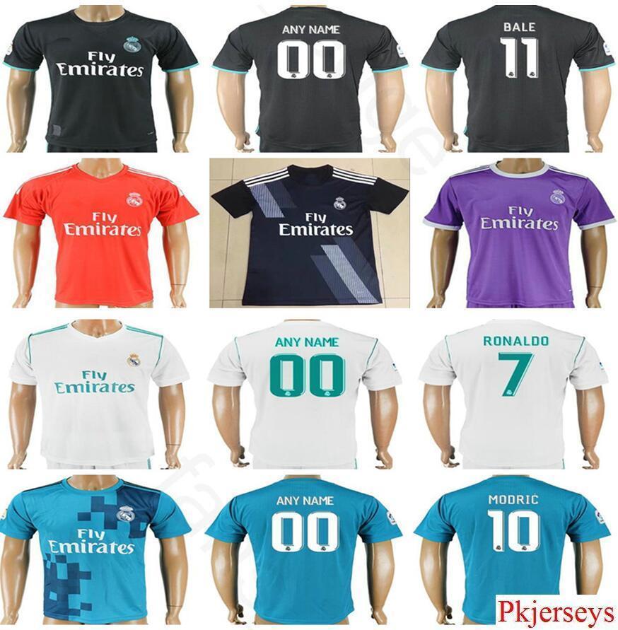 abbigliamento calcio Real Madrid personalizzata