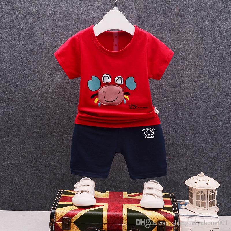 b06697e96ce0 Baby Boys Girls Clothing Sets Kids Cotton Tracksuits Children ...