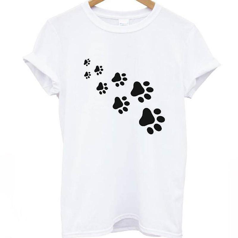 3320778f3ab0b 2019 Women T-shirt Halajuku Casual Funny Print Cotton T-shirt For ...