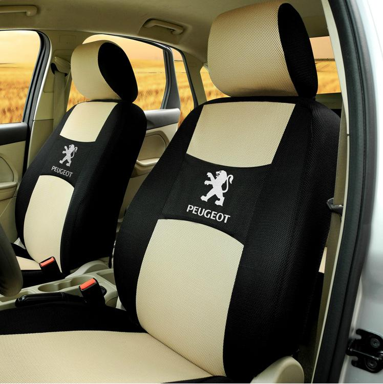 Car Seat Protector Full Set for Peugeot 407 308 SW 3008 4008 All Seasons Cushion Car-covers Car Seat Cover