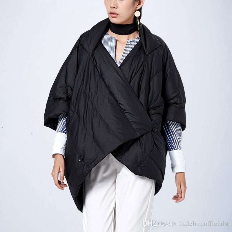 Mode Mode Souris Femmes Acheter Manches D'hiver Chauve Veste Loose Parka Parka Parka pn6Sxq