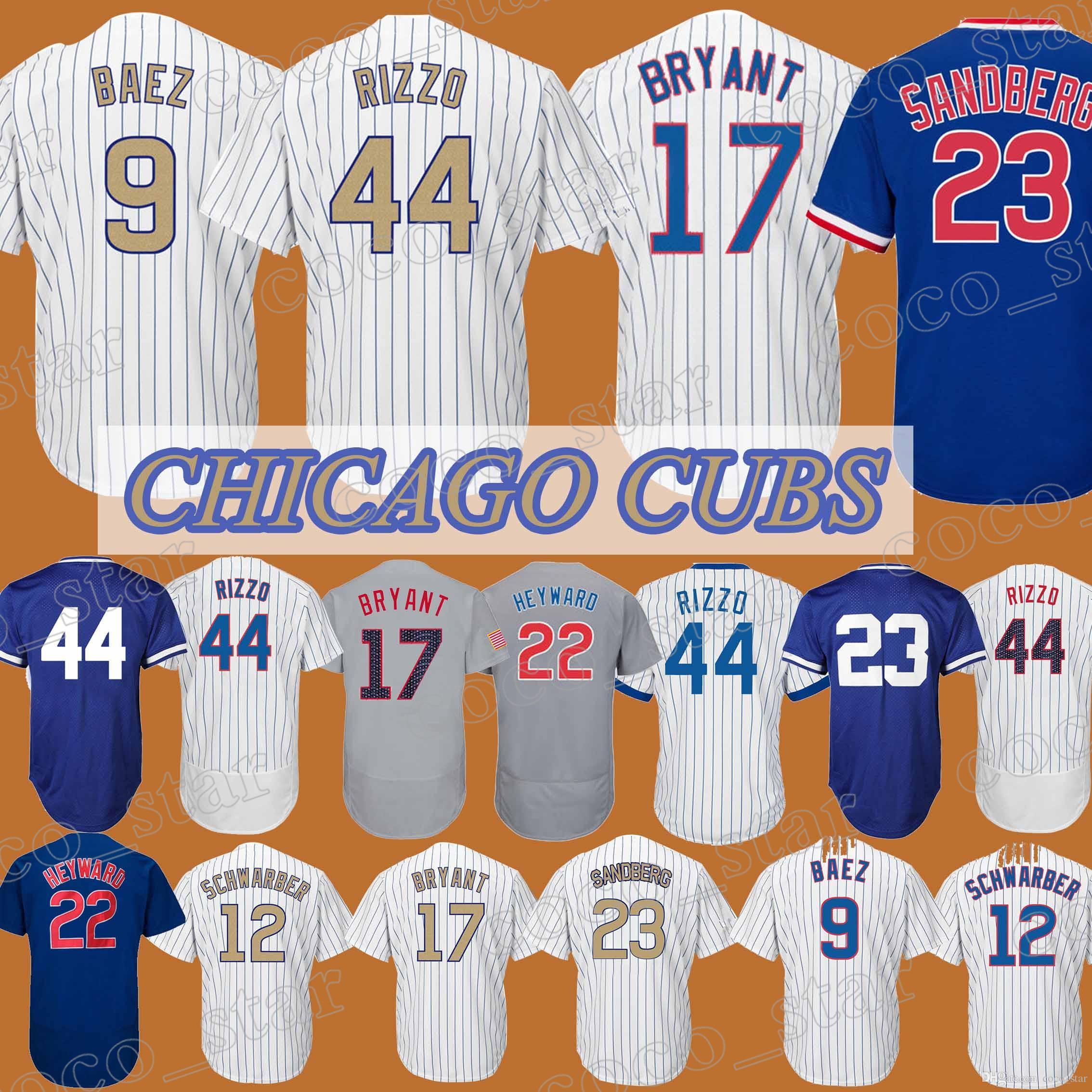 aa62f652025 9 JB  44 AR Chicago Cubs Jersey  17 KB  23 RS 12 Kyle Schwarber 22 ...