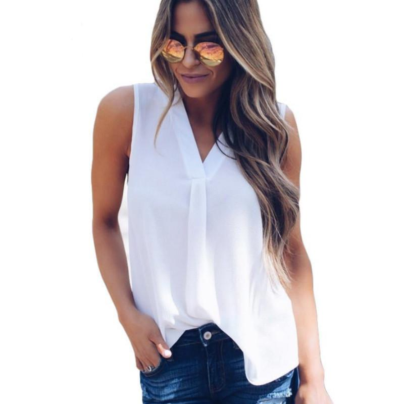 91af2aa4c9ac4 Plus Size Women Tops And Blouse 2018 Summer Tops Female Solid ...