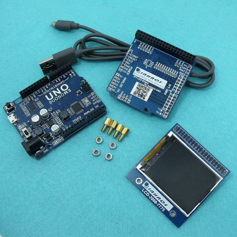 LCD-2000 Development Kit 7775 UNO R3 2.0 TFT LCD Display TFT LCD PCB ...