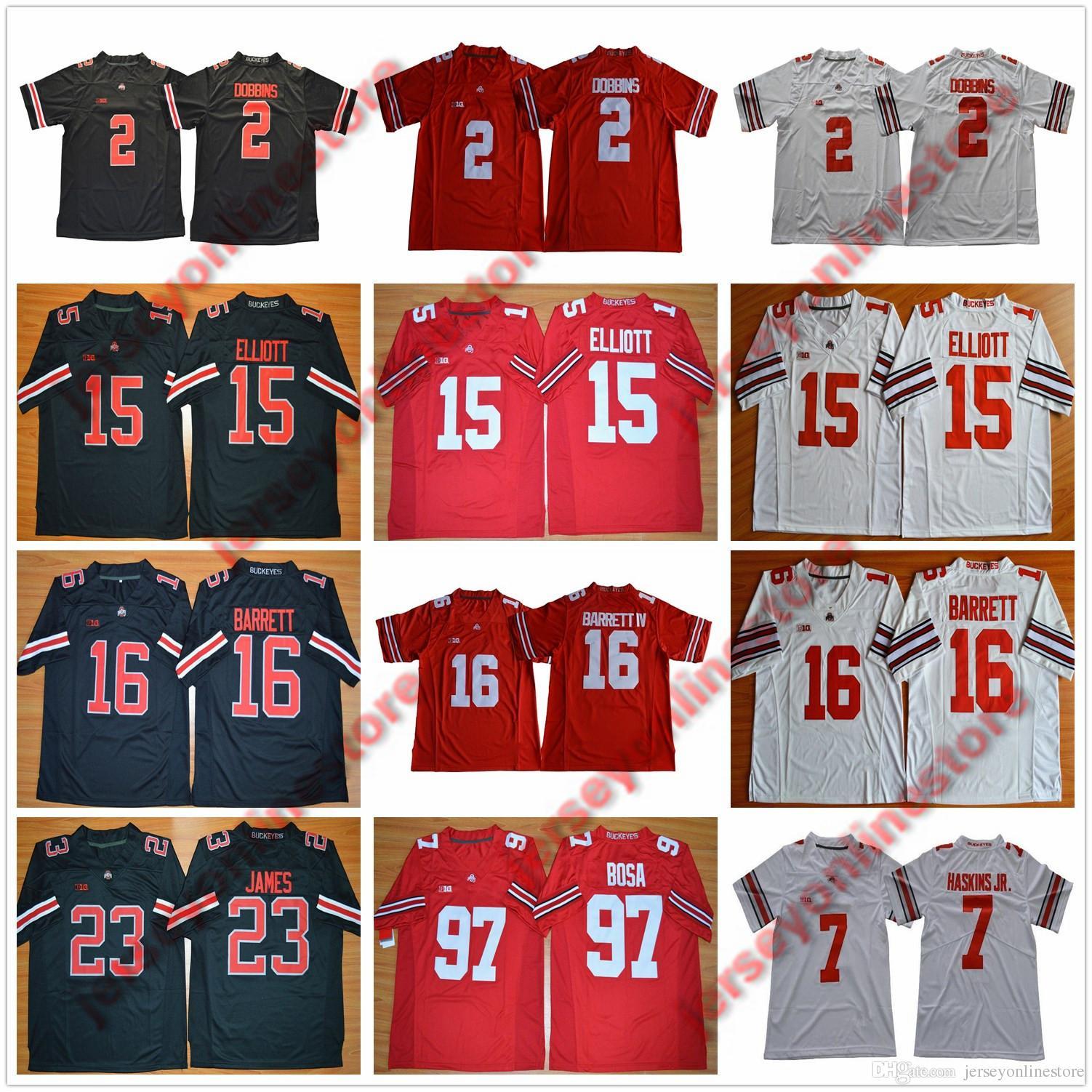 db52ac71f Mens Ohio State Buckeyes 97  Nick Joey Bosa College Football Jersey ...