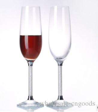European and American diamond lead lead crystal red wine glasses Creative goblet Champagne cup