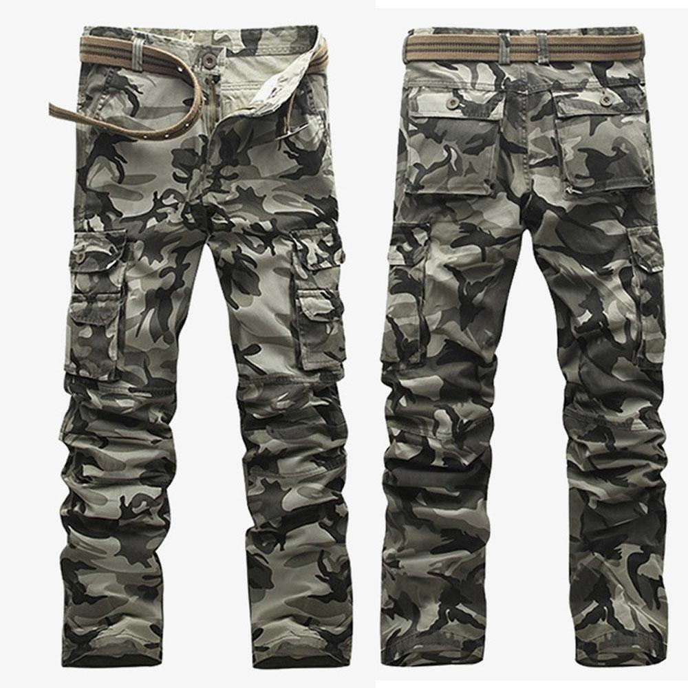 696e42b129d 2019 Tactical Pants Men Cotton Pockets Camouflage Trousers Mens Loose  Comfortable Camo Jogger Outdoor Straight Cargo Overall From Zanzibar,  $43.99   DHgate.