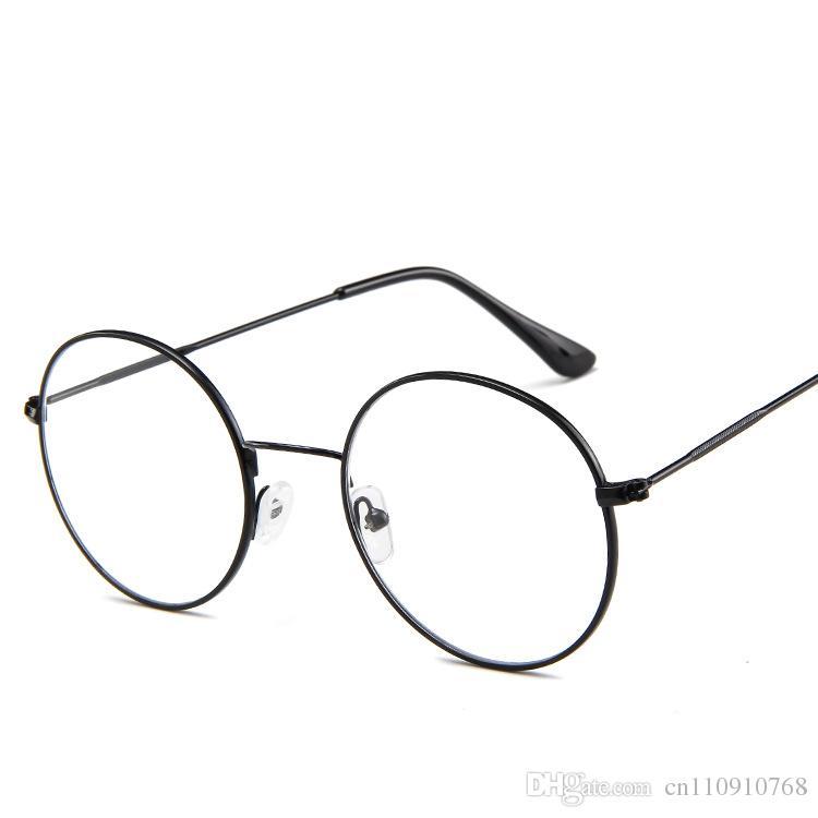 70174d258bc 2019 Steampunk Retro Glasses Peeks Eyewear Round Shape Eyeglass Slim Metal  Frame Ultra Light Circle CE FDA VA50 From Cn110910768