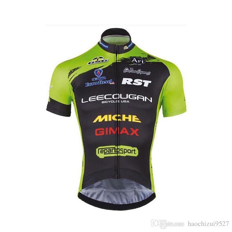 Pro Team Cycling Short Sleeves Jersey Summer Style Men MTB Ropa ... 11e27b7b6