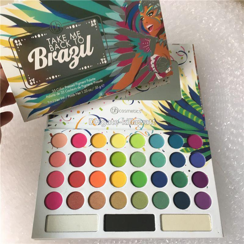 Hot Beauty Creations Take Me Back To Brazil Makeup Palette