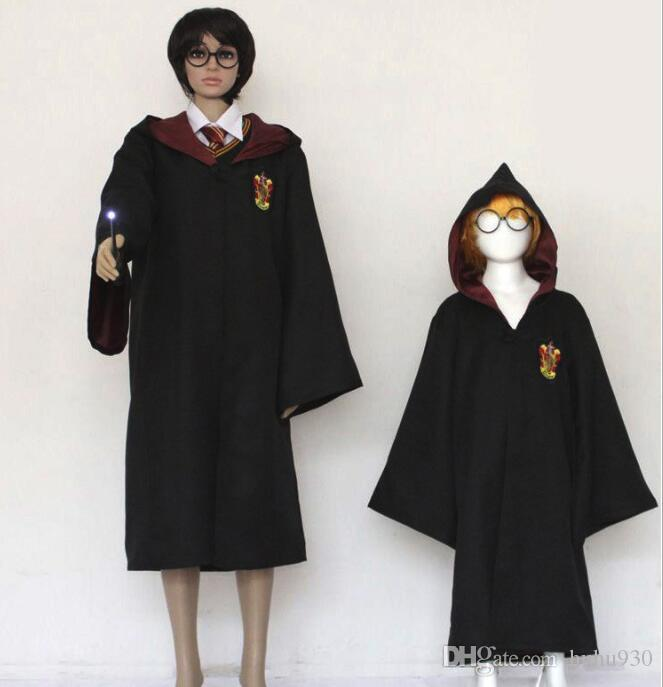 halloween harry potter cloak cape cosplay costume robe cloak with