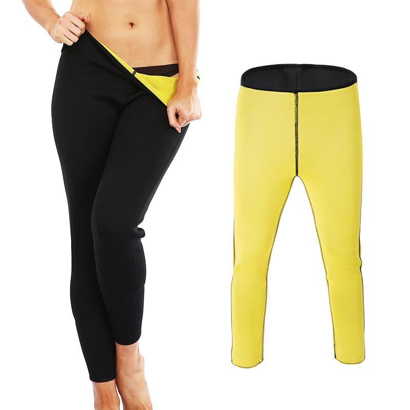 b88ecfbd8820c 2019 Women S Slimming Cellulite Leggings Pants Autumn Winter Thermo Neoprene  Sweat Pant Sauna Body Shaper Weight Loss Running Leggins From Honhui