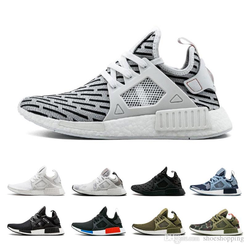 f07c14e43359a AAA+ NMD XR1 Men Running Shoes Mastermind Japan Skull Fall Olive Green Camo  Glitch Black White Blue Zebra Pack Man Women Sports Shoes Good Running Shoes  ...