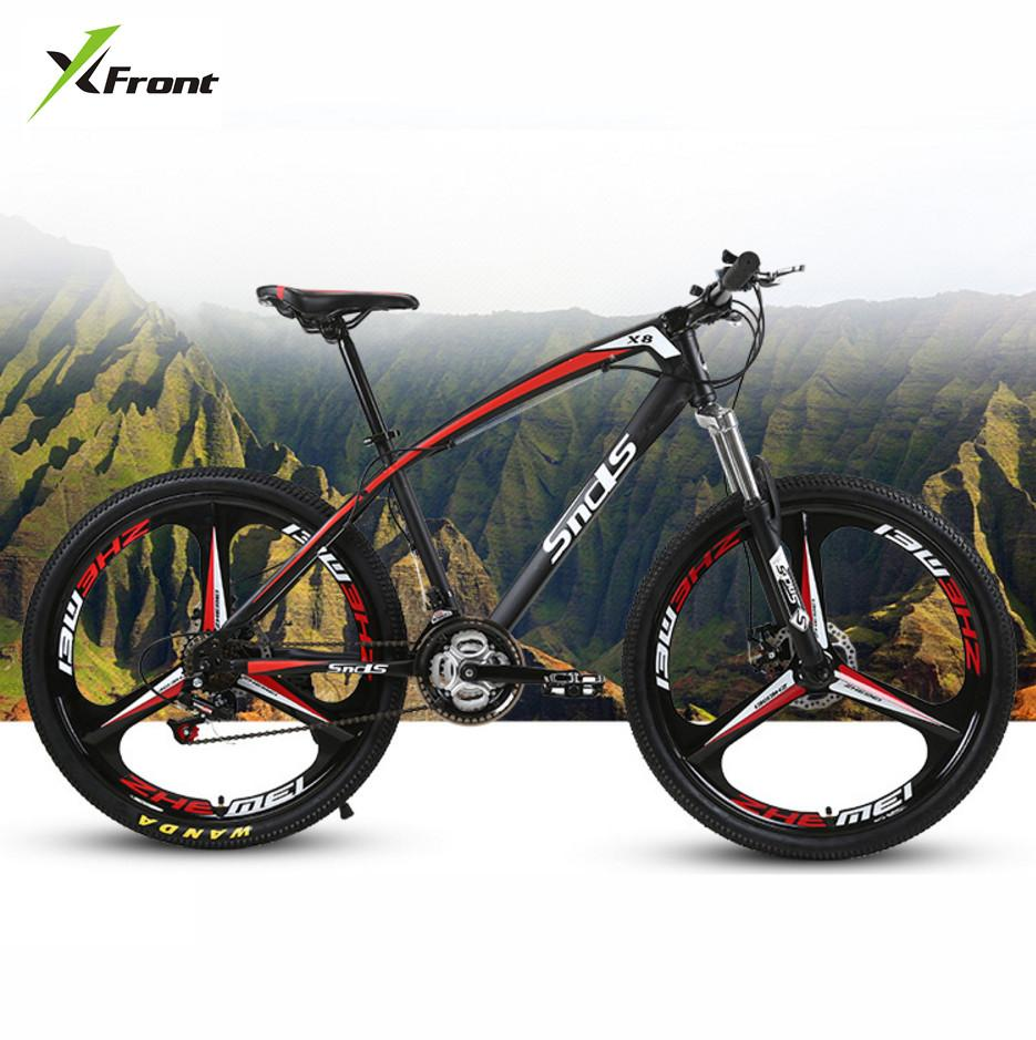 a03d82e2e98 New brand Carbon Steel Frame Mountain Bike 26 Inch Wheel 21/24/27 Speed  Disc Brake Outdoor Downhill MTB Bicicleta Bicycle