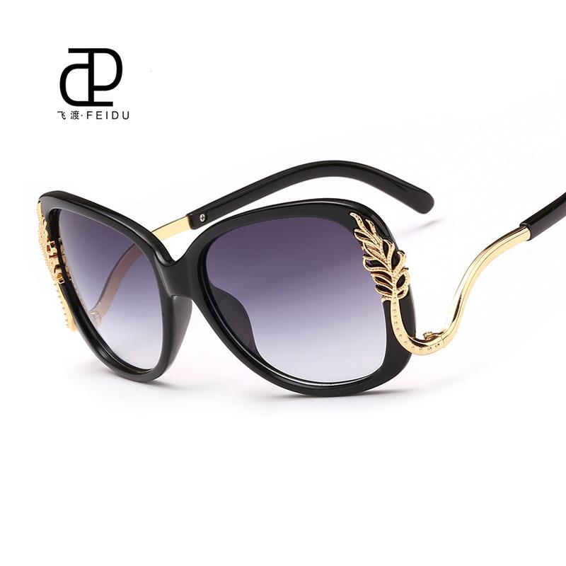 ea25e541806 FEIDU Fashion Oversized Butterfly Sunglasses Women Brand Designer  Multicolor Sun Glasses For Women UV400 Oculos De Sol Feminino Brand Sun Glasses  Designer ...