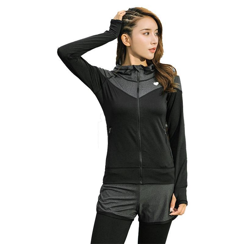 2019 Set Yoga Sport Wear Woman Plus Size Sportswear Women Tops ... 95f386a612e4