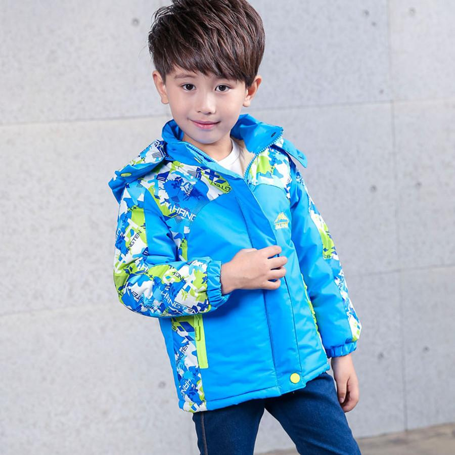 Kids Winter Jacket For Boys Outdoor Thick Warm Camouflage Coat Children Autumn Sport Boys Outerwear Kids Jacket Hiking Climbing