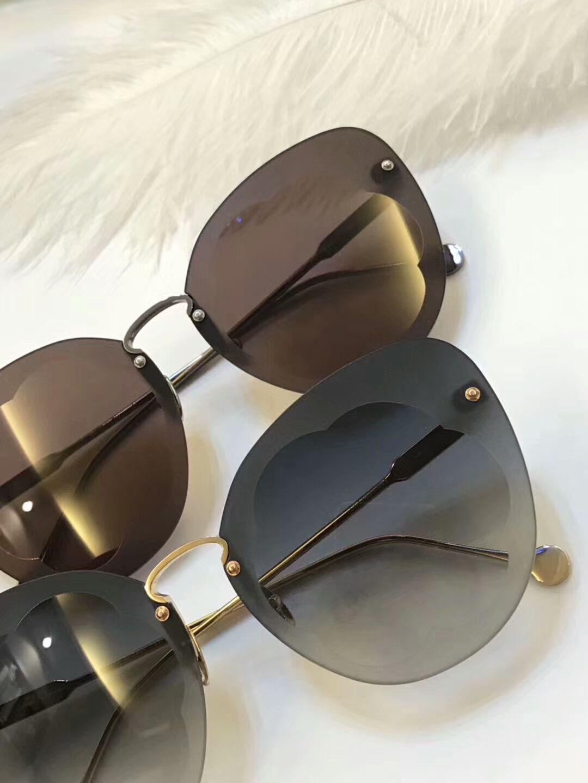 eee2fc110 Compre Designer De Mulheres Olho De Gato 178 Óculos De Sol De Metal Armação  Cinza Lente Sombreada 63mm Marca Óculos De Sol Com Caso Original De  Baiyu168, ...