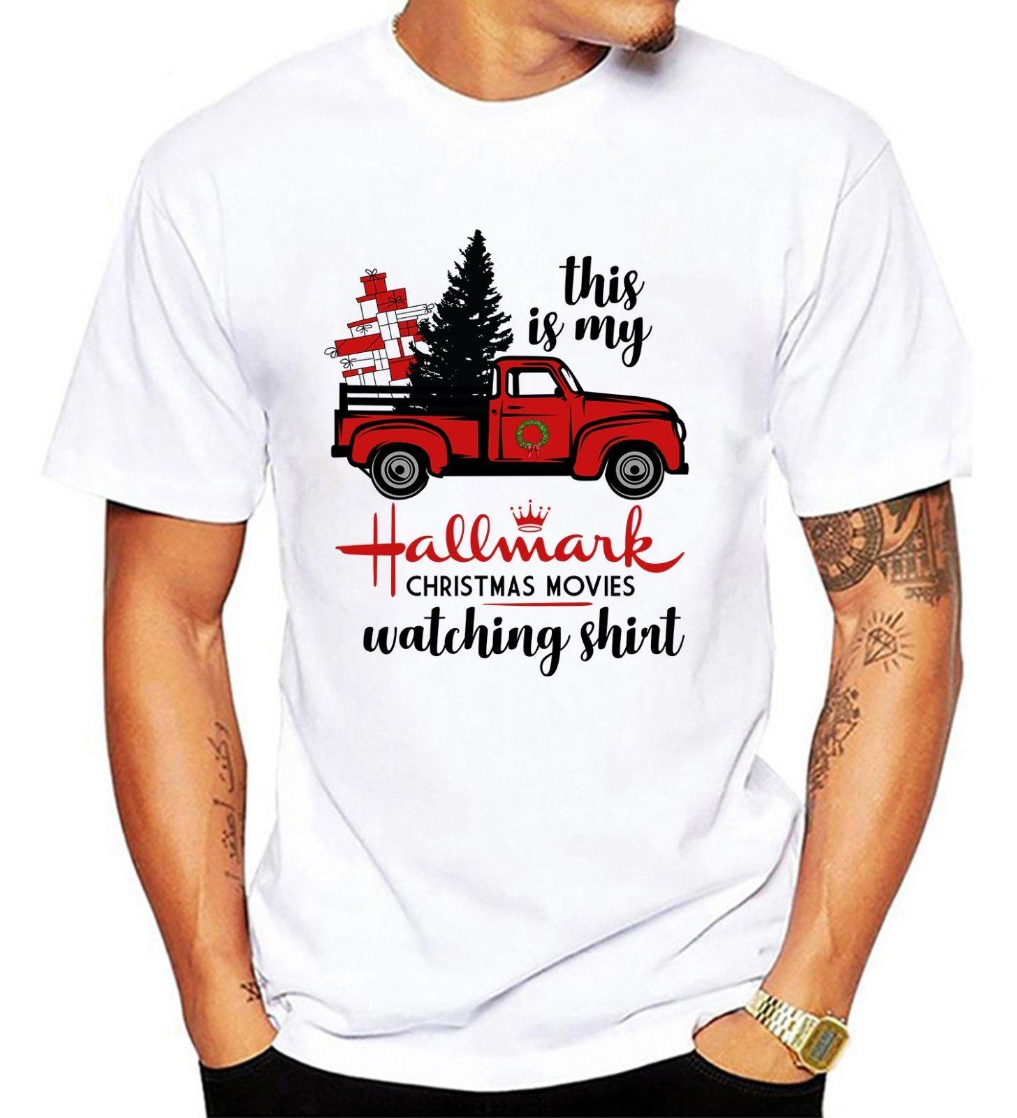 e0e9bc7fc94 This Is My Hallmark Christmas Movie Watching Shirt Men   Youth T Shirt  Online T Shirts Funky T Shirts From Funnytees45